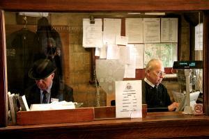 Ticketmen, Oxford. Photograph by Dan Mangan