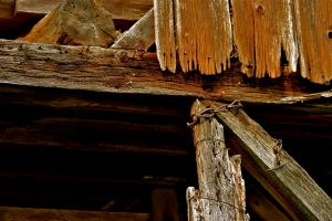 Ancient Wood, George Spangler Barn. Photograph by Dan Mangan