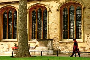 Yeoman Warder, Chapel Royal of St. Peter in Chains. Photograph by Dan Mangan