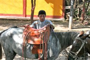 A Fine Saddle, Rural Nicaragua.  Photograph by Dan Mangan