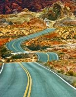 Road to Deep Time: Valley of Fire, Nevada. Photograph by Dan Mangan