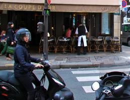 La Coupe d'Or, Rue Saint-Honoré. Photograph by Dan Mangan