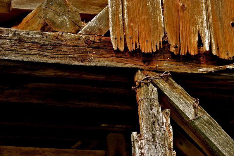 Ancient Wood, George Spangler Barn. Photograph by Dan Mangan