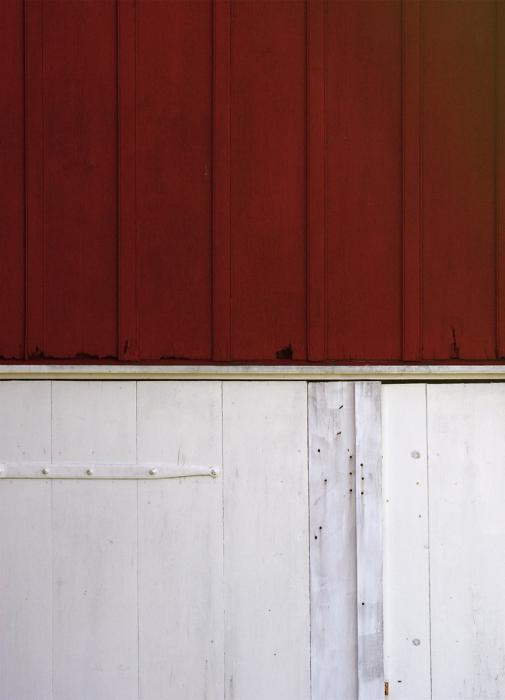 Diptych: Joseph Sherfy Barn. Photograph by Dan Mangan