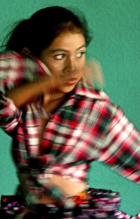 Dancer, Santa Rosa del Peñon. Photograph by Dan Mangan