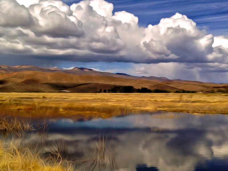Approaching Storm, Pahranagat Refuge, Nevada