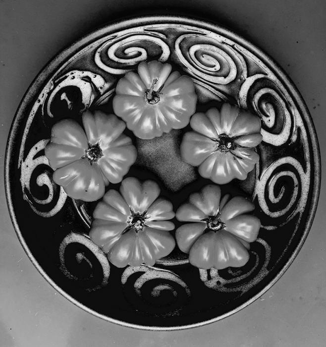 Still Life: Heritage Tomatoes