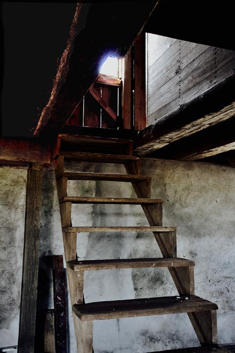 Stairs to the Threshing Floor, Scott Barn